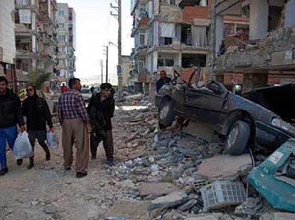 Число жертв землетрясения в Иране выросло до 350