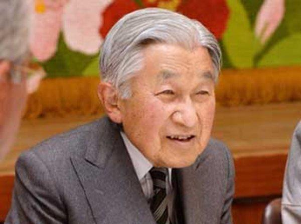 Обнародована дата отречения императора Японии от престола
