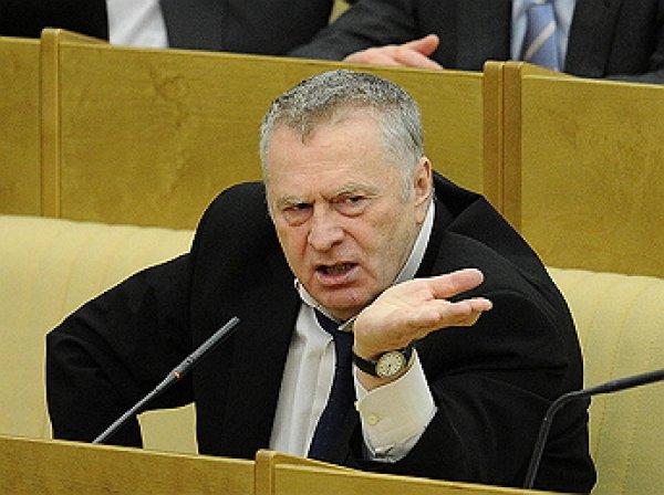 Жириновский: на заядлого взяточника со злыми намерениями Улюкаев не очень похож