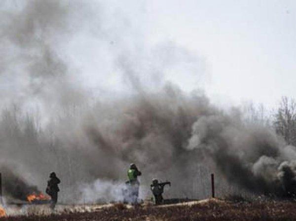 СМИ показали видео ответного удара ДНР по позициям украинской армии