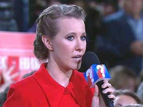 Собчак на пресс-конференции Путина спросила его о Навальном