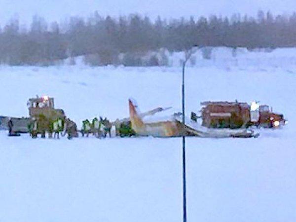 Видео падения самолета в Нарьян-Маре появилось в Сети: 4 погибших