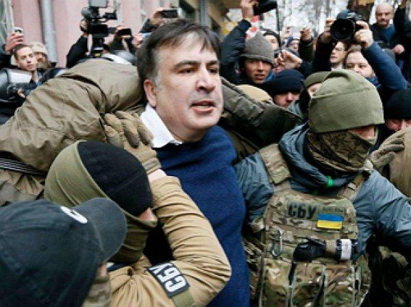 Саакашвили задержали в Киеве: политик помещен в СИЗО