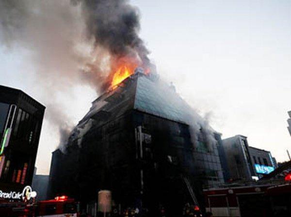Почти 30 человек погибли при пожаре в фитнес-клубе в Южной Корее