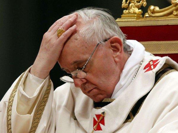 """Папа римский захотел изменить текст молитвы """"Отче наш"""""""