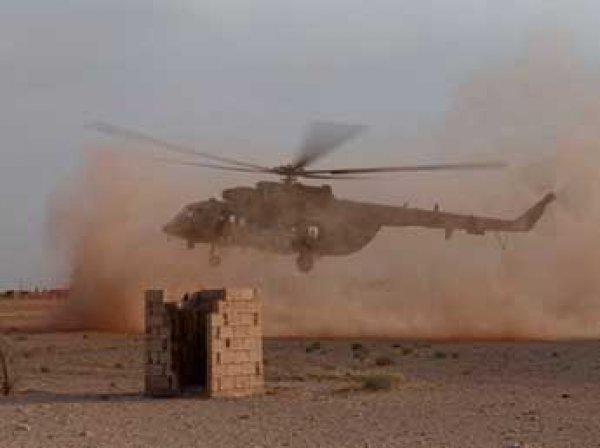 СМИ: американские вертолеты эвакуировали лидеров ИГИЛ из Сирии