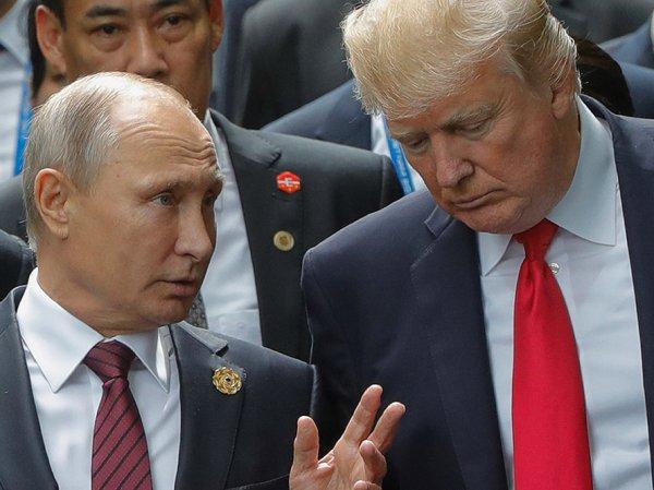 В Белом доме рассказали, за что Трамп поблагодарил Путина