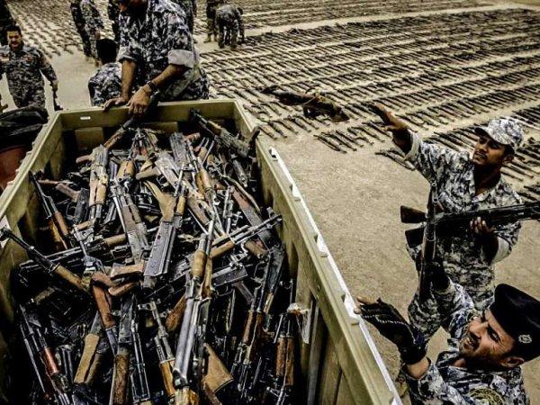 Эксперты рассказали о происхождении оружия, попавшего к террористам ИГИЛ через США