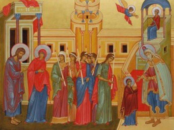 Какой сегодня праздник: 4 декабря 2017 отмечается церковный праздник Введение во храм Пресвятой Богородицы