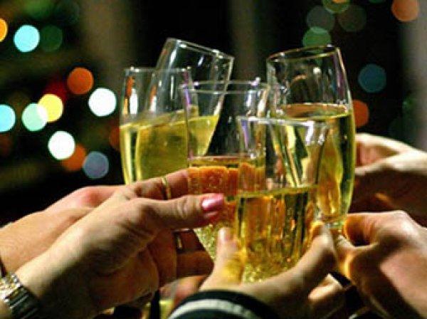 Медики назвали допустимую дозу алкоголя на Новый год