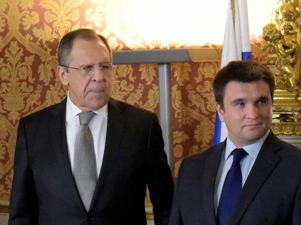 Лавров и Климкин впервые за три года поговорили с глазу на глаз
