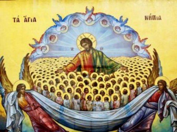 Какой сегодня праздник: 28 декабря 2017 отмечается церковный праздник День святых Невинных Младенцев Вифлеемских