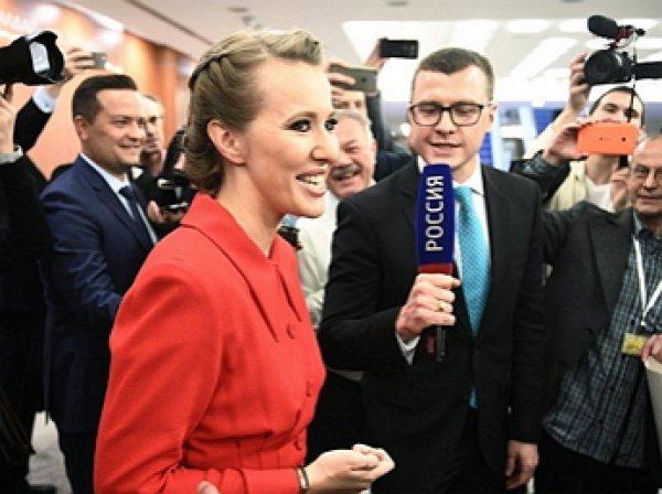 Собчак не устроил ответ Путина о Навальном