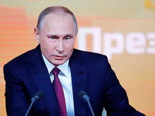 14 декабря состоялась большая пресс-конференция Путина