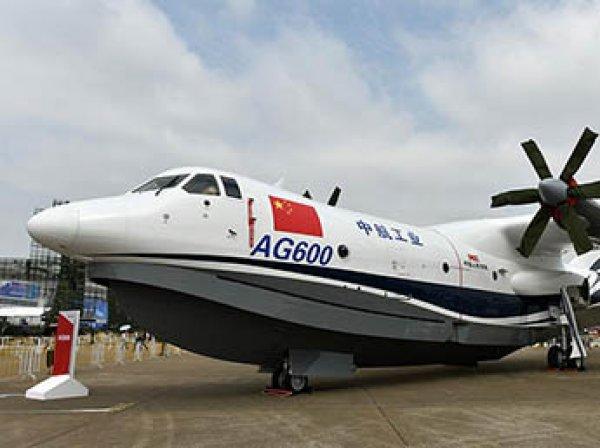 В Китае первый полет совершил крупнейший в мире самолет-амфибия