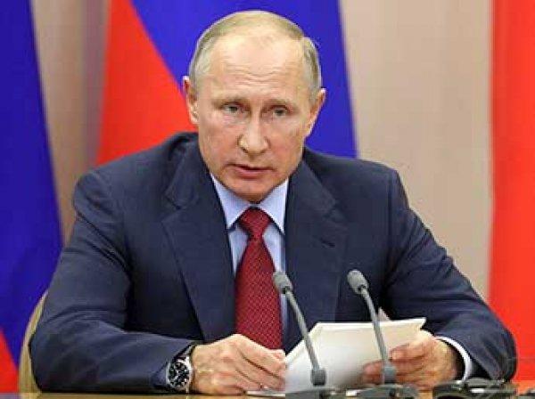 """Путин разрешил блокировку звонков """"телефонных террористов"""""""