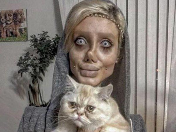 """""""Джоли"""" из Ирана раскрыла секрет своих жутких изменений во внешности"""