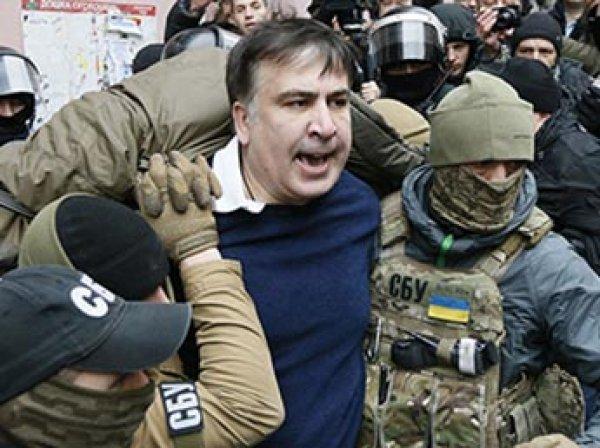 Сторонники Саакашвили отбили его от следователей СБУ