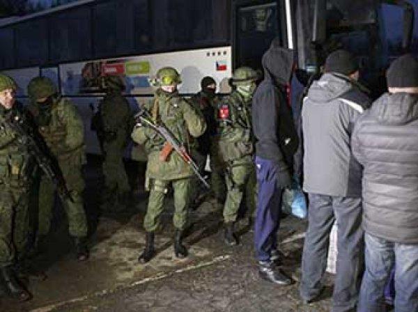 На Донбассе завершился крупнейший с начала войны обмен пленными