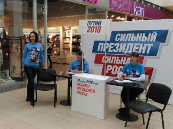 В российских городах стартовал сбор подписей в поддержку самовыдвижения Путина