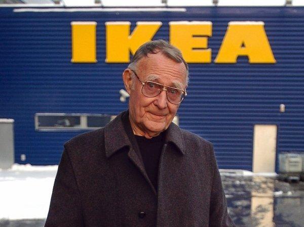 В Швеции скончался основатель IKEA