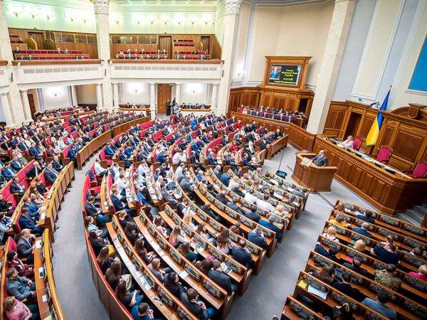 В Верховной раде приняли закон о реинтеграции Донбасса