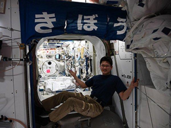 Японский астронавт за три недели на МКС вырос на 9 см