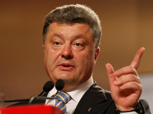 «Сапог украинского оккупанта»: Порошенко оговорился, выступая с речью на Дне соборности
