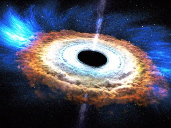 """Ученые нашли """"отрыжку"""" черных дыр"""