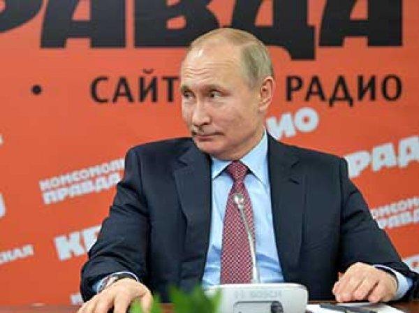 Путин согласился передать Украине десятки военных кораблей из Крыма