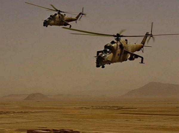 В Сирии разбился вертолет Ми-24