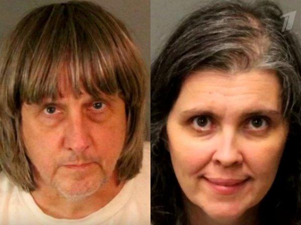 В Калифорнии семейная пара несколько лет держала на цепи 13 родных детей