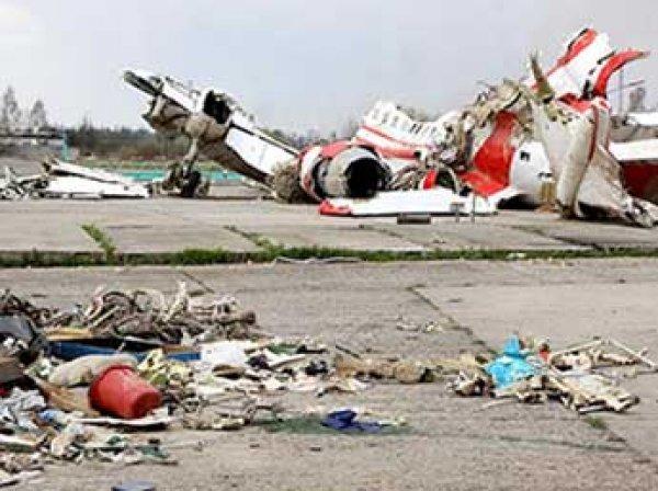 Польша заявила о двух взрывах на борту самолета Качиньского