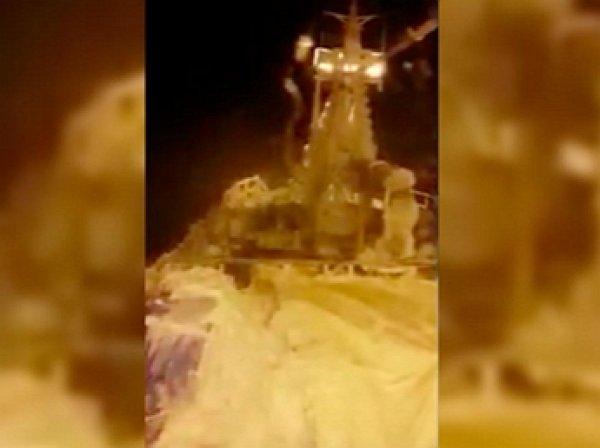 """В Сети появилась последняя видеозапись с потерпевшего бедствие судна """"Восток"""""""