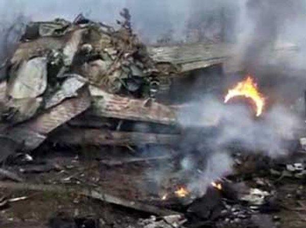 В Китае разбился самолет: в Сеть попало видео с места крушения