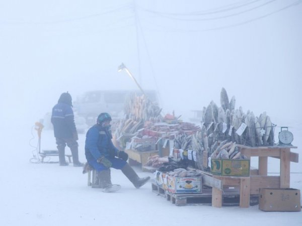 В Якутии похолодало до -65 градусов