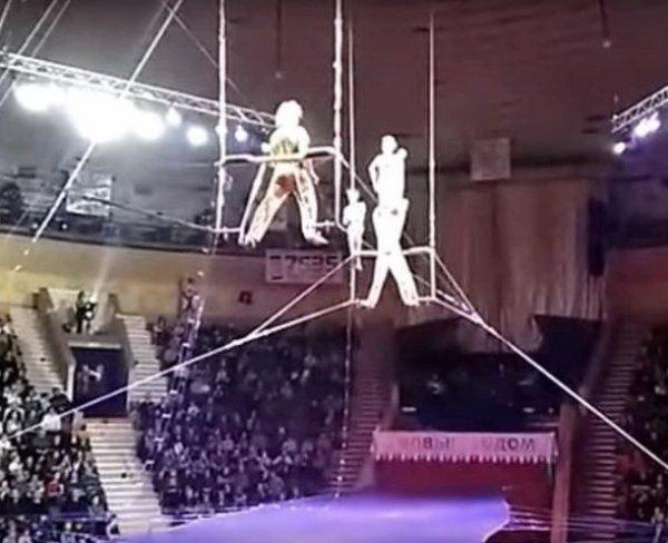 В Гомеле гимнастка цирка Никулина упала с высоты во время выступления