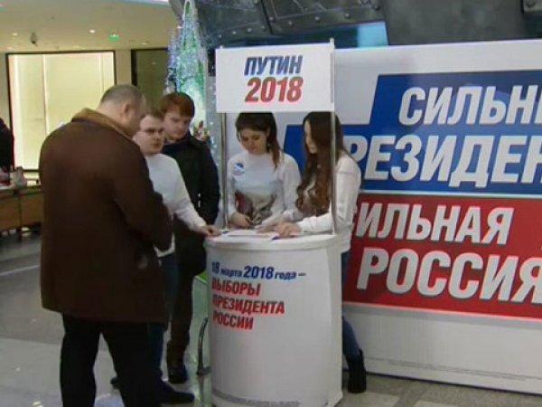 Часть подписей в поддержку Путина аннулировали