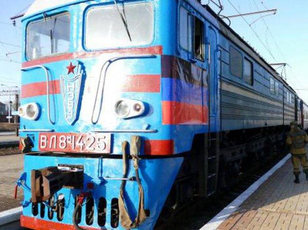Неизвестные заминировали поезд, следовавший в Россию из ДНР