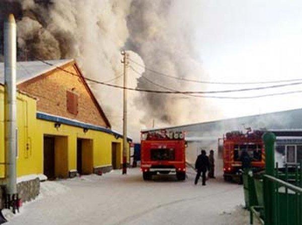 10 иностранцев погибли  при пожаре на обувной фабрике под Новосибирском
