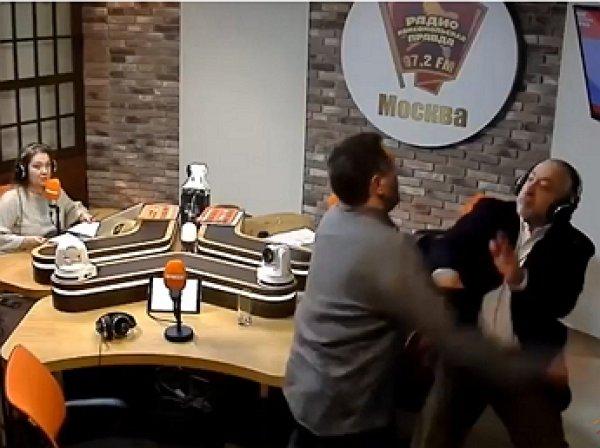 """Журналисты Сванидзе и Шевченко устроили драку в прямом эфире радио """"КП"""""""