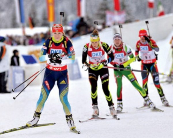 Биатлон, эстафета 07.01.2018, женщины, результаты: Франция - первая, Россия - четвертая