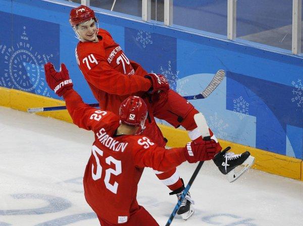 Российские хоккеисты вышли в 1/2 финала ОИ-2018, обыграв норвежцев
