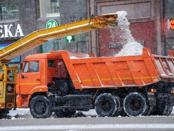 В Москве обстреляли из травматического оружия и забросали яйцами уборочную технику