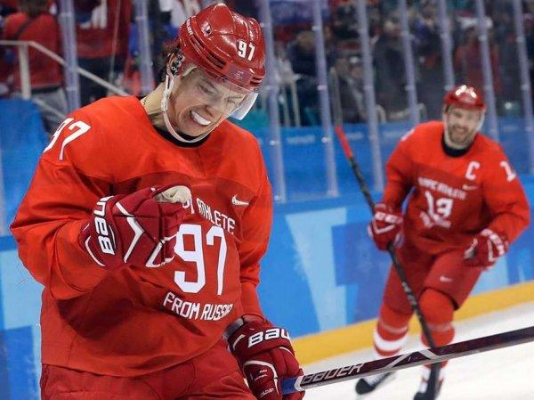 Хоккей, Чехия – Россия: счет 0:3, обзор матча 23.02.2018, голы, результат Олимпиады 2018 (ВИДЕО)