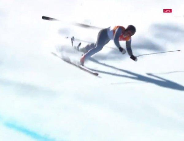 На Олимпиаде-2018 разбился российский горнолыжник