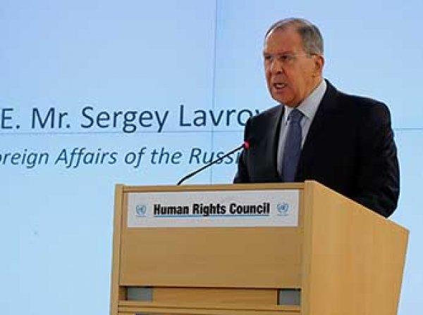 Лавров обвинил США в подготовке стран ЕС к ядерному удару по России