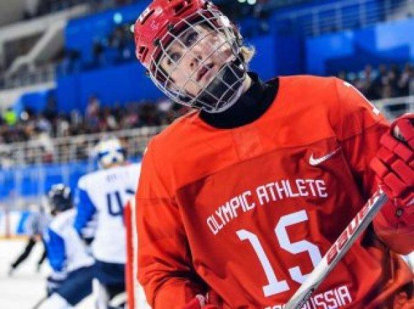 Российские хоккеистки сыграют с финками в матче за третье место на Олимпийских играх-2018