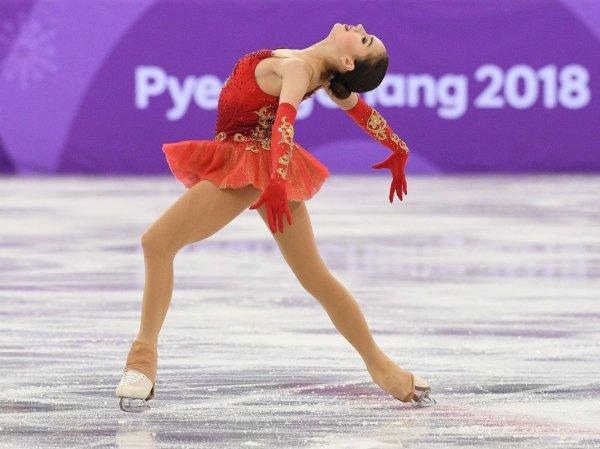 Фигуристка Загитова побила рекорд Медведевой в короткой программе