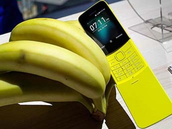 "HMD возродила легендарный ""телефон-банан"" Nokia 8110 из ""Матрицы"""